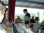 Σιμουλτανέ Σκάκι (διεξήχθη στην αίθουσα Β. Φαρμάκη, λόγωβροχής)