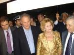 Επίσκεψη στο περίπτερο της Δολίχης του Υπουργού Αγρ. Αν. και Τροφίμων κ. Κ. Σκανδαλίδη, του Υφυπουργού Οικονομικών κ. Φ. Σαχινίδη, της Επάρχου Ελασσόνας κ. Μ. Μαμάρα, του Δημάρχου Ελασσόνας κ. Γ. Πασχόπουλουκλπ
