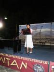 Η Πρόεδρος της Δημοτικής Χορωδίας Λιτοχώρου κ. ΝίκηΠαναγούλια
